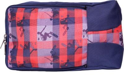 Bagsrus Air Walk Printed Shoe Bags Small Travel Bag Blue