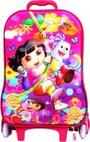 ZASMINA Kids Trolly Bag Small Travel Bag  - SMALL PINK