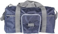 Bendly Folding Navy Blue Unisex Duffel Small Travel Bag  - Large Blue