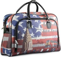 WRIG PF-WDB024-A Red Blue Small Travel Bag  - Large Red Blue