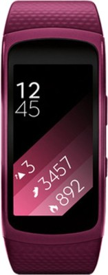 SAMSUNG Gear Fit 2 Pink Smartband (Pink Strap L)