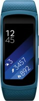 SAMSUNG Gear Fit2 (Large) Blue Smartband (Blue Strap L)