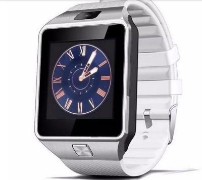 Maya DZ09 Smartwatch (White Strap)