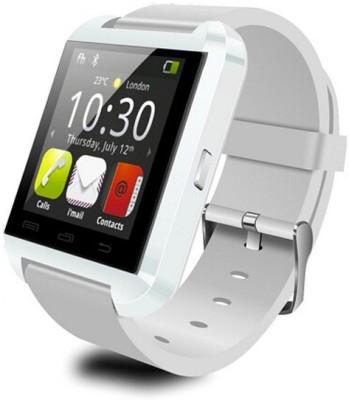 Safeway Advanced U8 Smartwatch (White Strap)