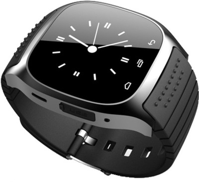 Qtec Qtec smart watch SW315 Smartwatch (Black, Blue Strap)