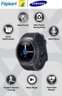 SAMSUNG Gear S2 Dark Grey Smartwatch (Grey Strap)