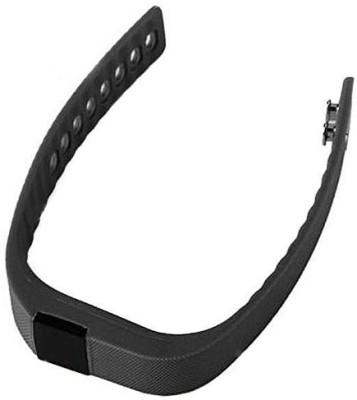 Gadget Hero's Wireless Activity & Sleep Tracker Band Smartwatch (Black Strap)