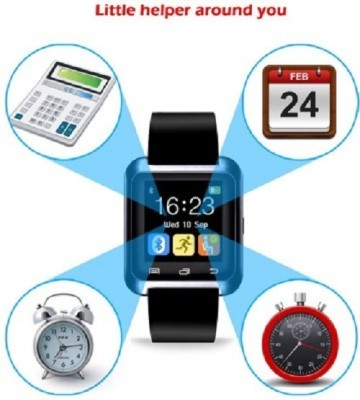 General AUX A7 SMART WATCH GEAR Smartwatch (Black Strap)