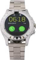 Egreentech Stylish Bluetooth Smart Watch Rate Monitor Camera High Quality Smartwatch (Silver)