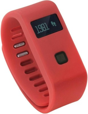 Bs Spy 100 % ORIGINAL FITNESS BAND WITH PEDOMETER RED Smartwatch (Red Strap free)