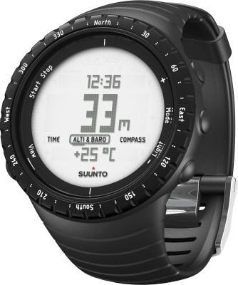 Suunto SS014809000 Core Digital Regular Black Smartwatch (Black Strap)