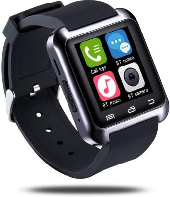 Bbroz U8 Black Smartwatch (Black Strap NA)
