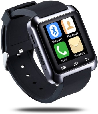 Bbroz U8 Black Smartwatch (Black Strap NA)