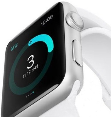 Attire Style Iconic Smartwatch (White Strap L)