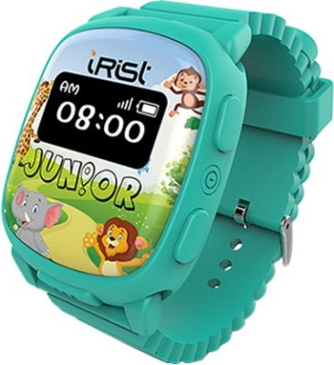 Intex iRist JUNIOR Turquoise Blue Smartwatch (Blue Strap)