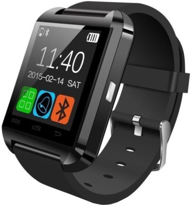 Top Goods U8 Black Smartwatch (Black Strap)