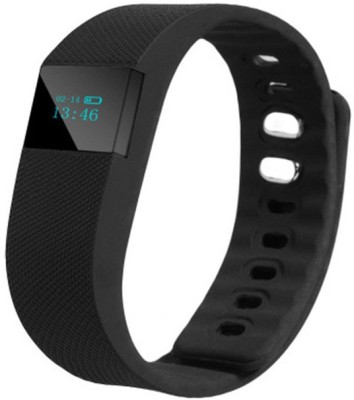 LIFE LIKE TW64 SPORT FITNESS TRACKER Smartwatch (Black Strap)