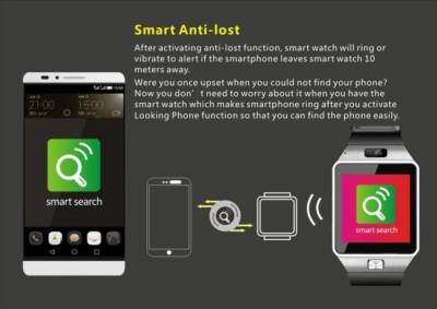 Timen TM09 Silver Black Smartwatch (Black Strap)