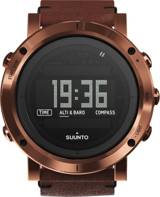 Suunto SS021213000 Essential Copper Smartwatch (Brown Strap)