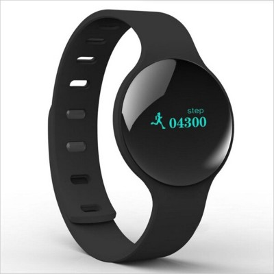 Noise Trace Black Smartwatch (Black Strap)
