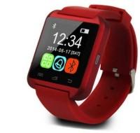 Egizmos U8 Bluetooth Smart Wrist Phone Mate For IOS Android Samsung IPhone HTC Smartwatch (Red)