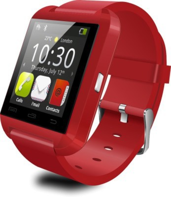 Krazzy Collection U8 Smartwatch (Red Strap)