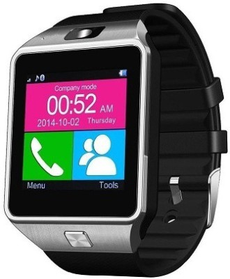 ShopAIS T80 Smartwatch (Silver Strap)