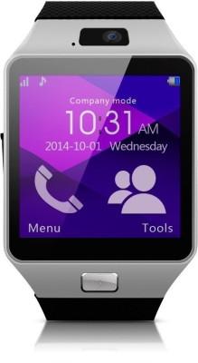 IWON DZ09 Smartwatch (Black Strap)