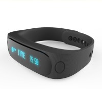 DGI Fitness Band Cum Smart Bracelets Smartwatch (Black)