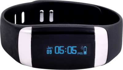 Urbannsmart j-style heart rate monitor Smartwatch (Black Strap)