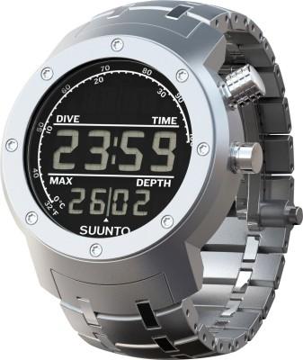 Suunto SS014527000 Elementum Aqua Smartwatch (Silver Strap)