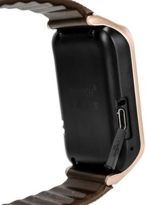 Attire Heart Rate Smartwatch (Brown Strap L)