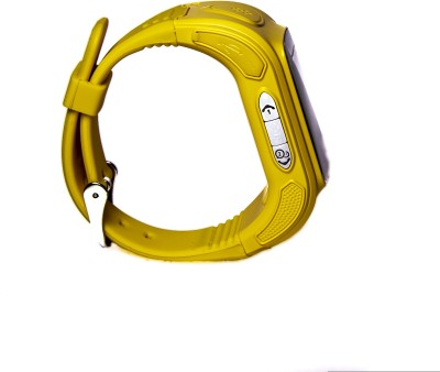 Santwissen SantWatch-Kids wearable GPS tracker phone Yellow Smartwatch (Yellow Strap Free Size)