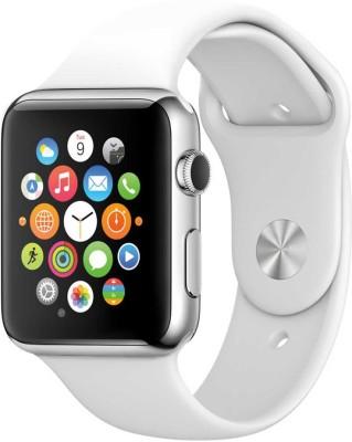 Hari Krishna Enterprise HK9 Sim White Smartwatch (White Strap)