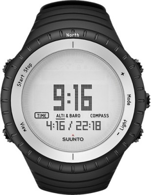 Suunto SS016636000 Core Digital Glacier Gray Smartwatch (Black Strap)