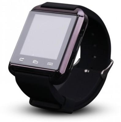 SD U8 Smart Watch Smartwatch (Black Strap)