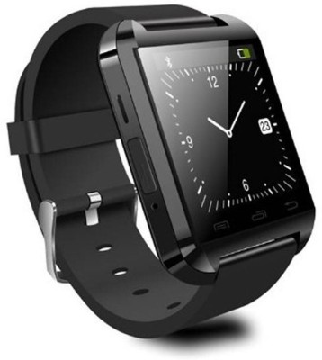 Zakk U8 Smart Watch Smartwatch (Black Strap)