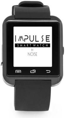 Noise Impulse Smartwatch (Black Strap)
