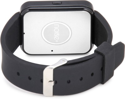 Noise Bolt Black Smartwatch (Black Strap Free Size)