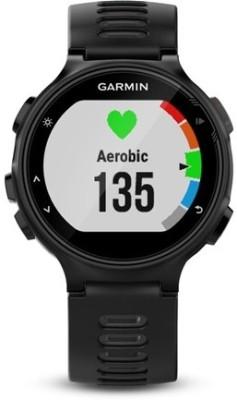 Garmin Forerunner 735XT Smartwatch (Black Strap)