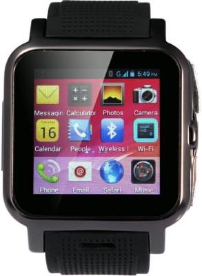 Smart Indie S3 GPS Black Smartwatch (Black Strap)