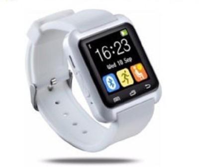 General AUX Touch, Bluetooth, BT Camera, Padometer, Altimeter Smartwatch (White Strap)