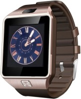 Aomax For All Device White Smartwatch (Brown Strap)