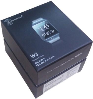kenxinda W3 Peppy Brown Smartwatch (Brown Strap)