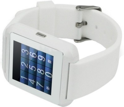 Niki Niki Smart Watch White Smartwatch (White Strap)