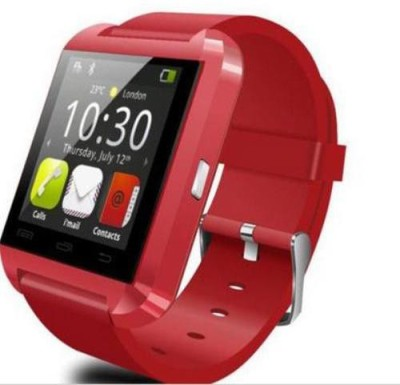Atech U8 Smartwatch (Red Strap)