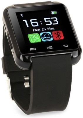 Blackseed BSI_U8_Advance Black Smartwatch (Black Strap Free Size)