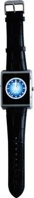 RDWorld W3 silver Smartwatch (Black Strap L)