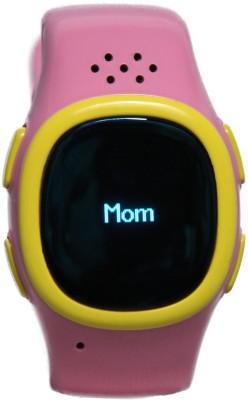 Traikoo Spatch Smartwatch (Pink Strap)