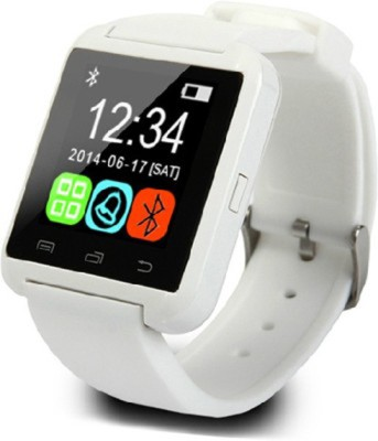Krazzy Collection U8 Smartwatch (White Strap)